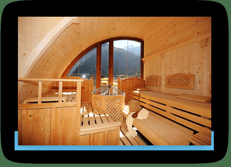 MANNI Finnische Sauna mit Ausblick