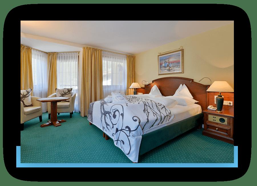 MANNI Comfort Doppelbett mit Ausblick