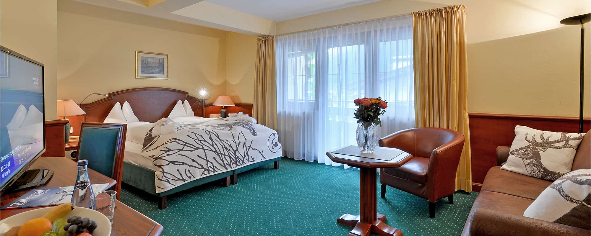 MANNI Classic Room doppelbett mit ausblick