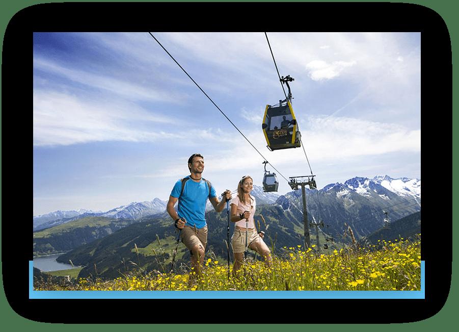 MANNI Bergbahnen, Wandern