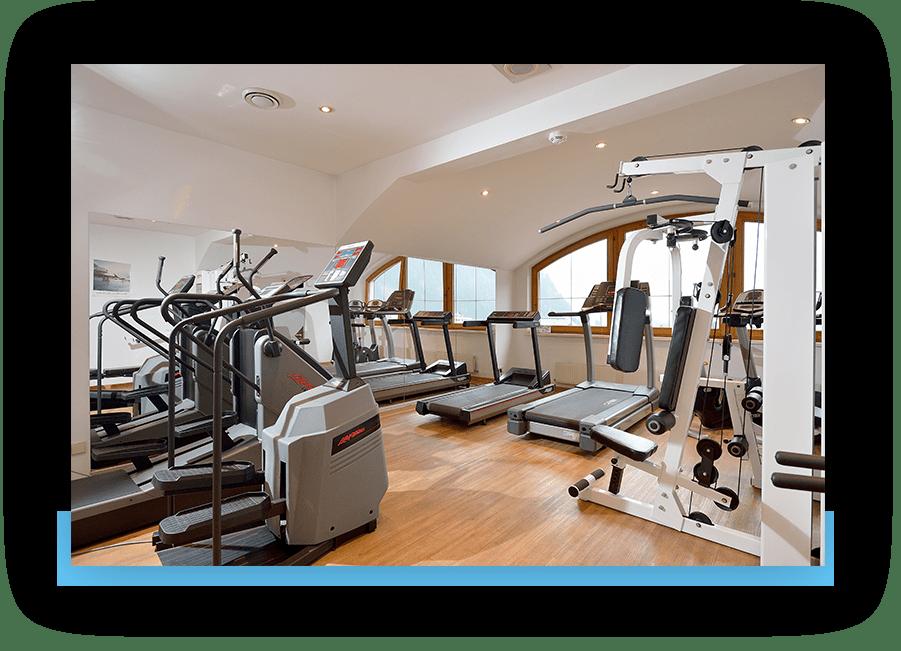 MANNI Fitnessbereich mit Laufband