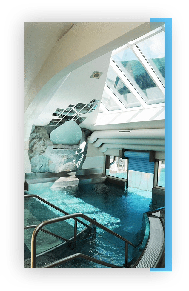 MANNI SPA luxus indoor pool
