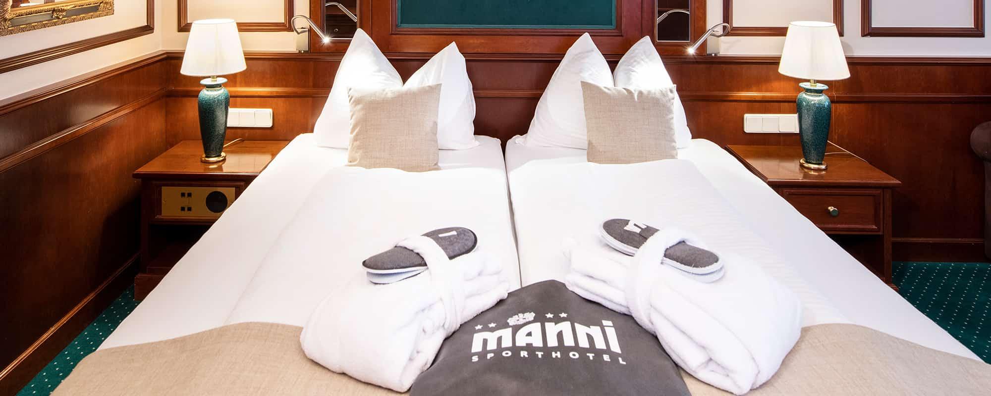 MANNI Studio Comfort Doppelbett