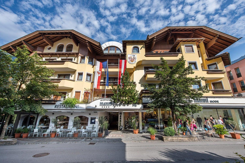 MANNI das Hotel mitten in Mayrhofen