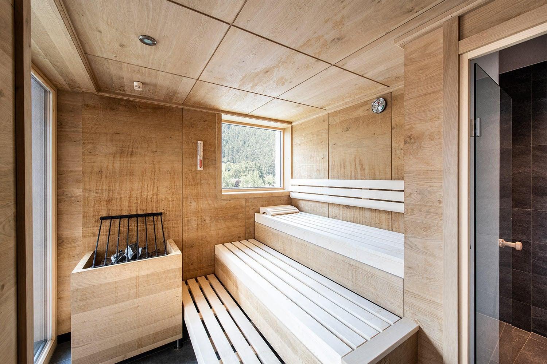 MANNI village luxus penthouse mit sauna