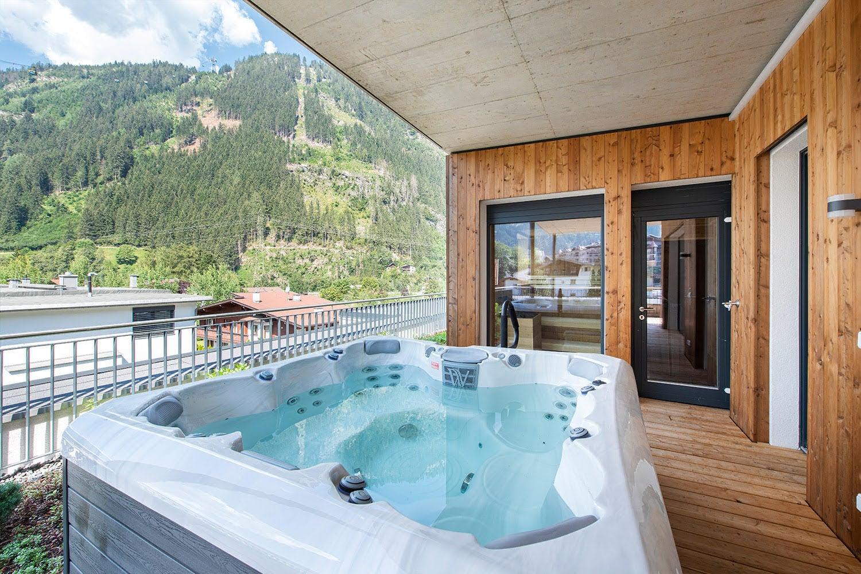 MANNI village luxus penthouse mit whirlpool