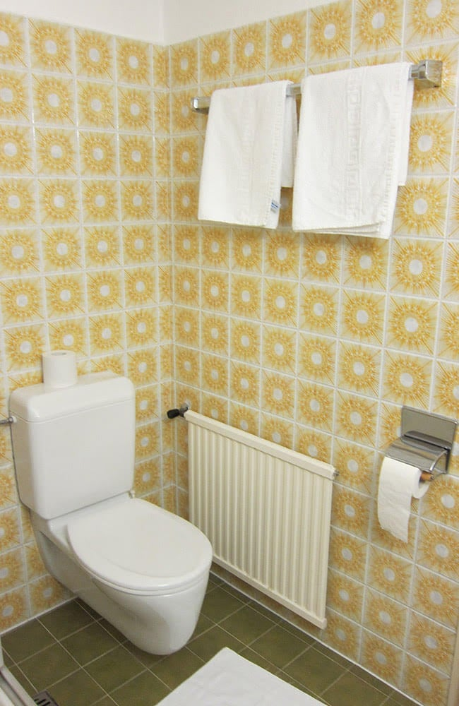 MANNI Gästehaus Elisabeth Toilette